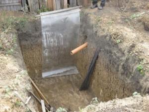 Проводка канализационных труб
