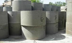 Кольца бетонные для колодцев и выгребных ям.
