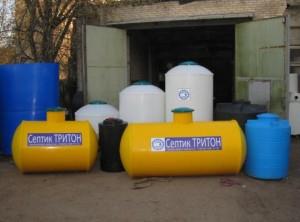 Пластиковые бочки и резервуары