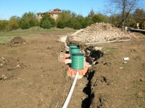 Система канализации готова к эксплуатации