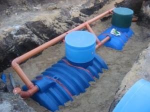 Монтаж канализации снаружи