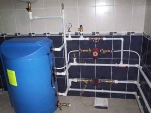Подача горячей воды