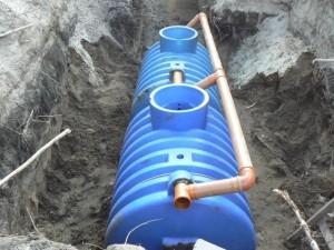 Септик сбора канализационных стоков