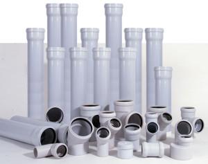 ПВХ трубы для качественной канализации