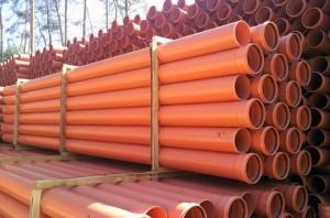 Трубы из ПВХ-материалов