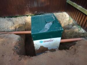 Установка канализационной системы