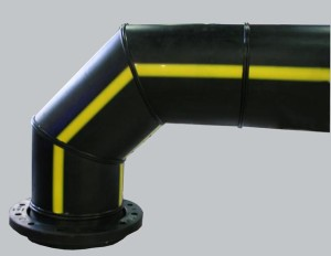 Соединение пластиковой трубы