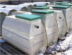 Септик устройством для автономной канализации.