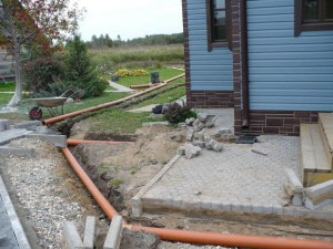 СНиП и устройство дождевой канализации
