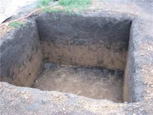 Готовая яма для сточных вод