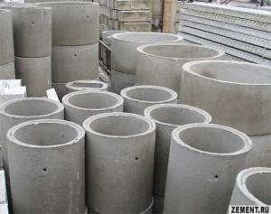 Бетонные кольца канализационной системы