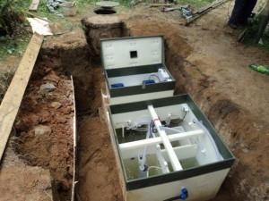 Монтаж канализации топаз