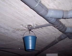 Протечка канализации