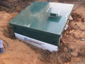 Монтаж канализационного сооружения