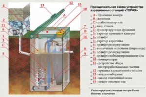 Принципиальная схема устройства Топас