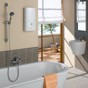 Мгновенный нагрев воды- один из плюсов электрического проточного водонагревателя