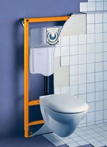 Подвесной унитаз с инсталляцией имеет ряд преимуществ по сравнению с обычным унитазом