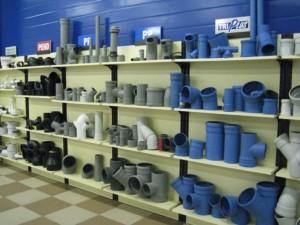 Элементы трубопровода в магазине
