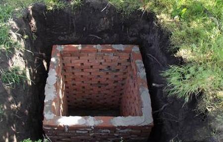 Как сделать яму на даче своими руками фото