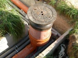 Смонтированные наружные канализационные сети