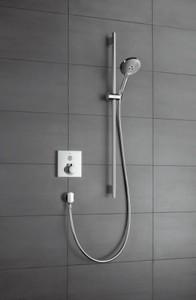 У смесителей для душа отсутствует переключатель воды с ванной на душ и обратно