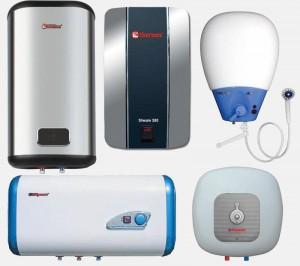 Различные варианты водонагревателя термекс